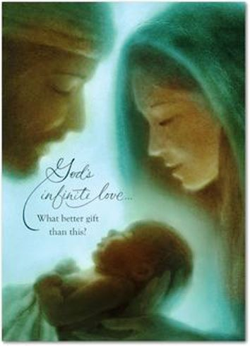 God's infinite love - what better gift than this? #HolyChristmas