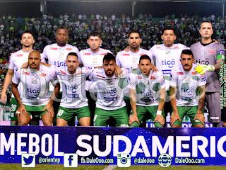 Oriente Petrolero - Copa Conmebol Sudamericana 2017 - DaleOoo Twitter, Instagra, Facebook Club Oriente Petrolero Oficial