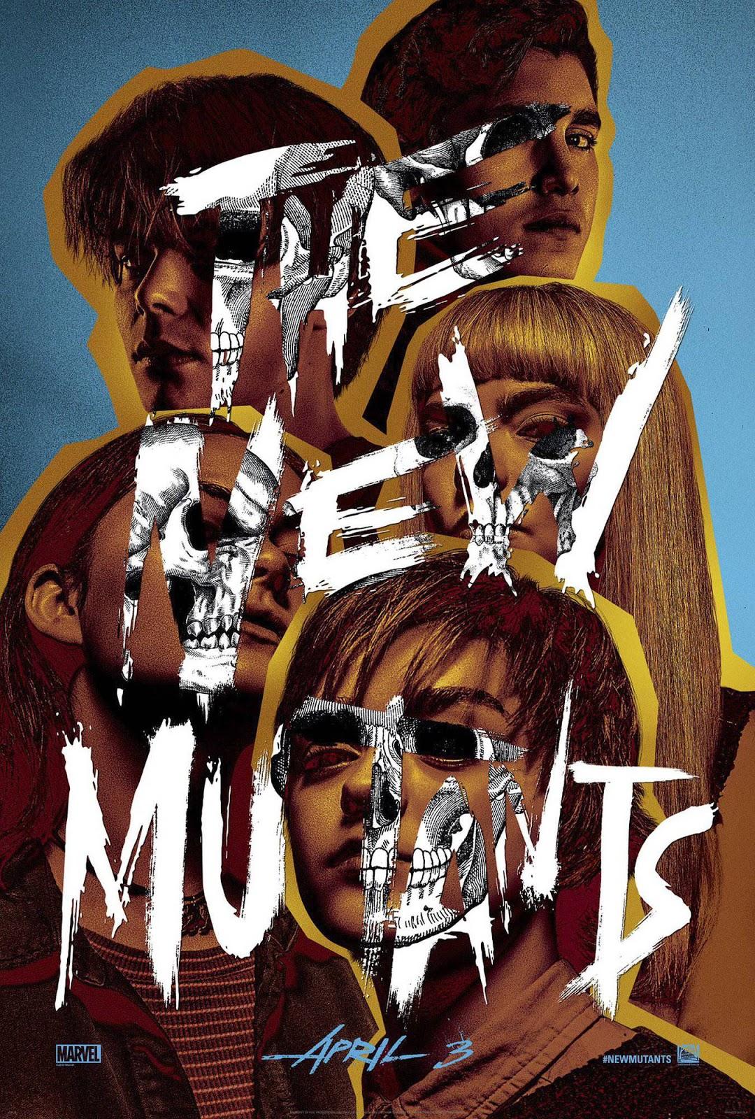 Os Novos Mutantes | Novo pôster com cara de filme de terror