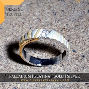cincin kawin palladium single 543