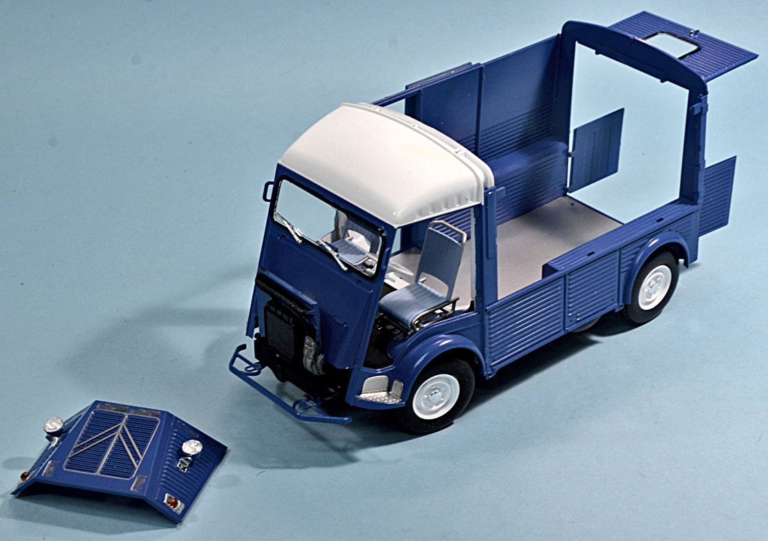 Scale Model News: COFFEE AND CROISSANTS WITH THE EBBRO CITROEN TYPE ...