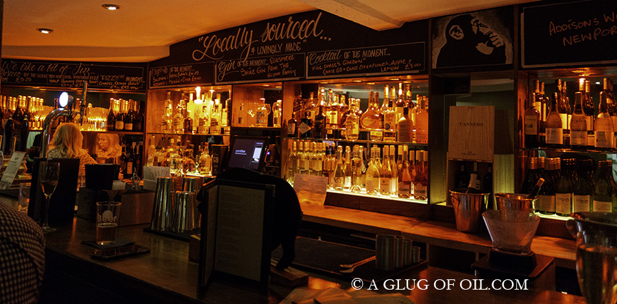 The Bar at Darwins Kitchen Shrewsbury
