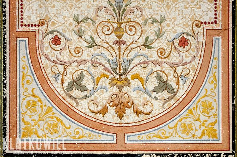 Świdnica: malowany sufit