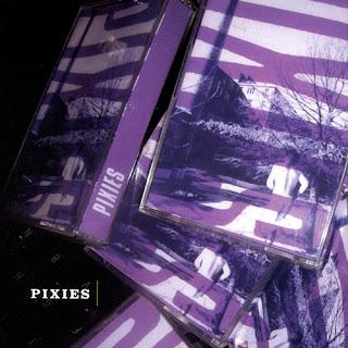 Imagen de la edición en CD de las primeras 17 canciones grabadas en casete de los Pixies en 1987, The Purple Tape