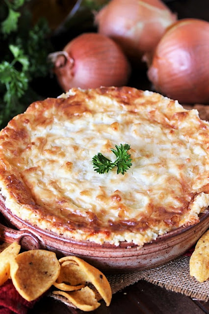 Baked Onion Souffle Dip Image