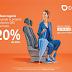 Ahorra hasta el 20% en tu proximo servicio en DIDI