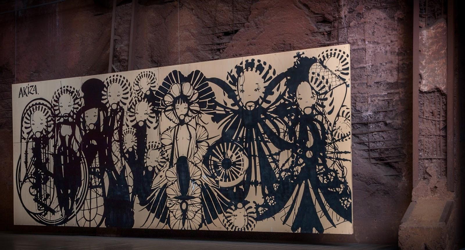 Völklinger Hütte street art