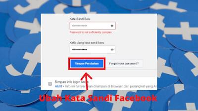 Cara Mengganti Kata Sandi Facebook Baru Dengan Mudah