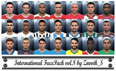 International FacePack vol.8
