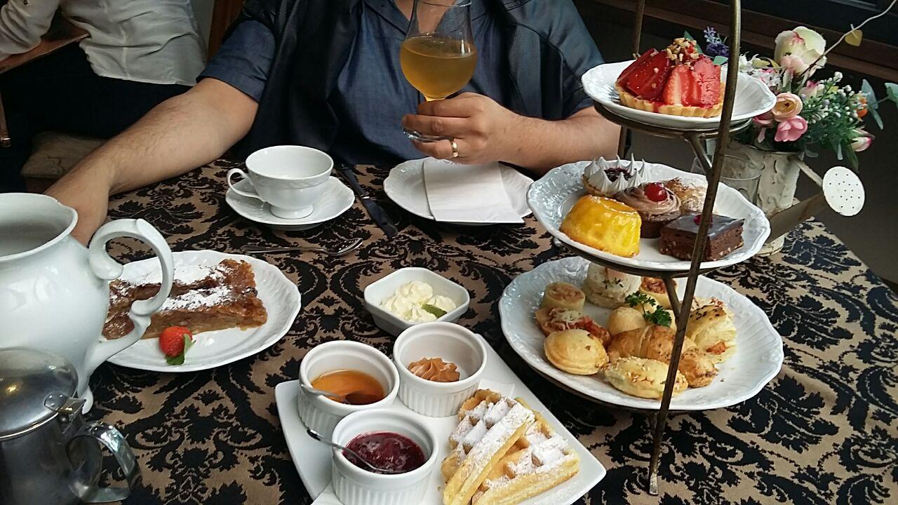 Chá da tarde no Rita Hoppner