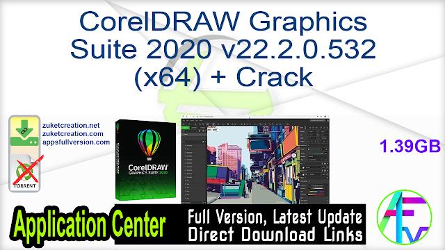 CorelDRAW Graphics Suite 2020 v22.2.0.532 (x64) + Crack