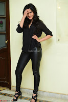 Shruti Haasan Looks Stunning trendy cool in Black relaxed Shirt and Tight Leather Pants ~ .com Exclusive Pics 060.jpg