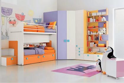 Desain Kamar anak Perempuan Rumah Minimalis 2020