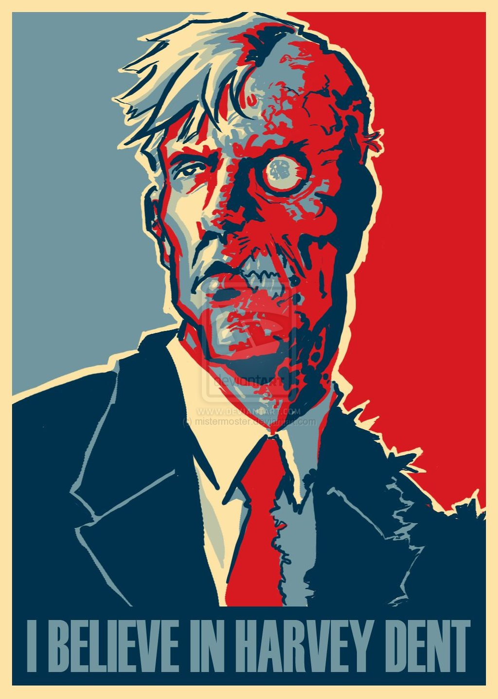 Harvey Dent New Earth: Nerdovore: I Believe In Harvey Dent