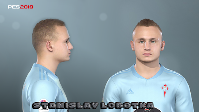 PES 2019 Faces Stanislav Lobotka by Prince Hamiz