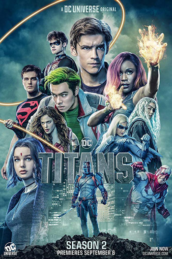 Titans 2018 Hindi Dubbed S01 Complete BluRay 1.5GB poster