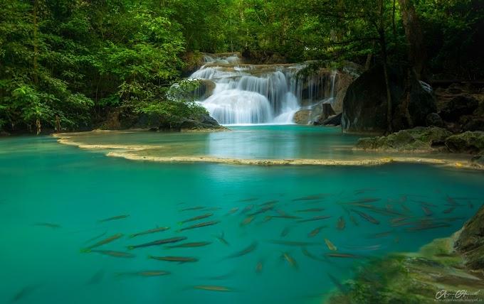 Erawan Falls , Thailand