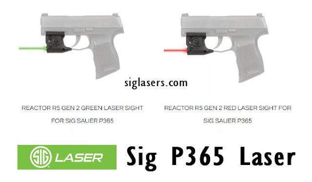 Sig P365 Laser