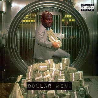 Mach-Hommy & THAGODFAHIM - Dollar Menu - Album Download, Itunes Cover, Official Cover, Album CD Cover Art, Tracklist
