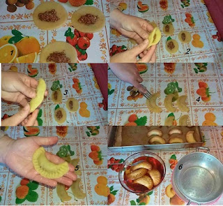 حلوة المروحة المعسلة . حلوة العيد تقليدية جزائرية
