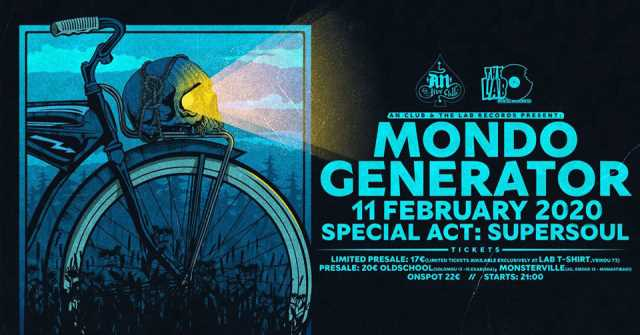 MONDO GENERATOR: Τρίτη 11 Φεβρουαρίου @ An Club