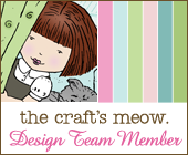 The Craft's Meow Design Team, Oct, 2012 - Dec, 2013