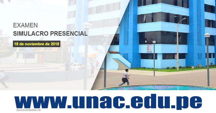 Resultados Simulacro UNAC 2018-2 (Examen 18 Noviembre) Lista Aprobados - PRESENCIAL - Universidad Nacional del Callao - www.unac.edu.pe