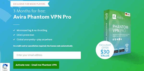 3 أشهر مجانا Avira Phantom VPN Pro للاندرويد و الويندوز و Mac