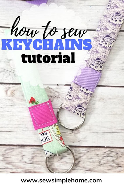 Learn how to make a fabric keychain with this simple tutorial and video.