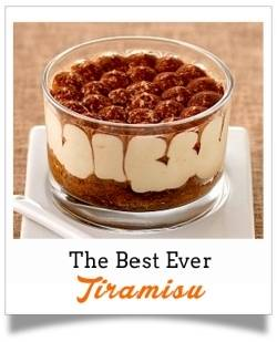 The Best Ever Tiramisu