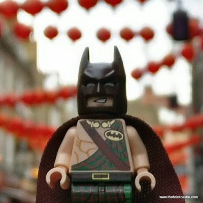 LEGO Tartan Batman at Chinese New Year Chinatown London