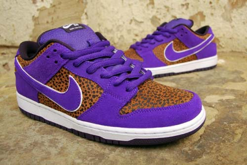 4ac1fd963357 The Dunk Low Purple Safari is limited and as you can see it s a unique shoe!