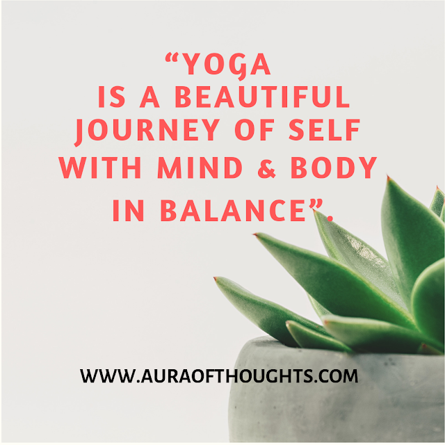 Yoga Quote by MeenalSonal