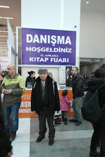 11. Ankara kitap fuarında idim - Cevat Kulaksız