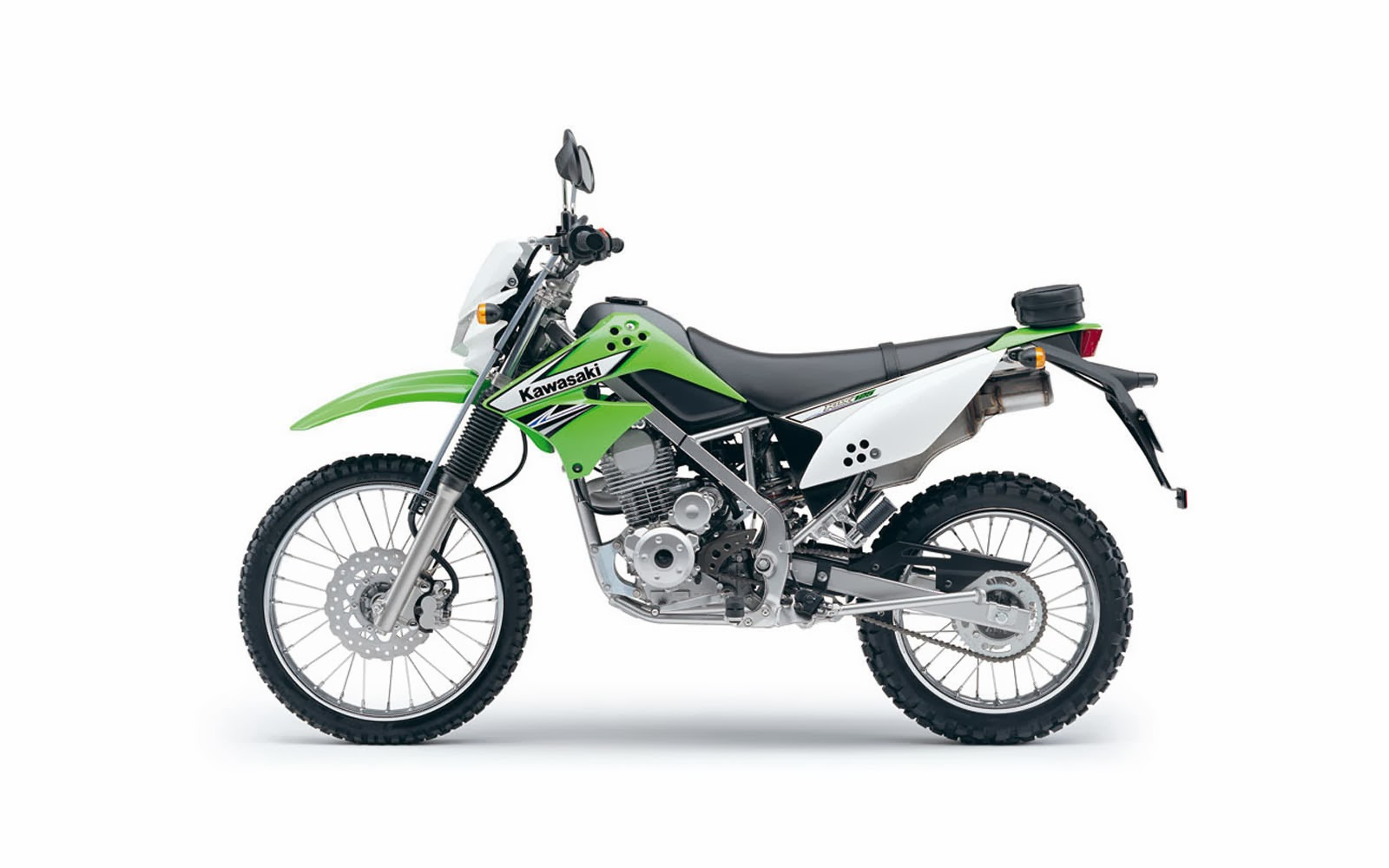 Kawasaki Klx 125 Wallpapers on 3d car windows