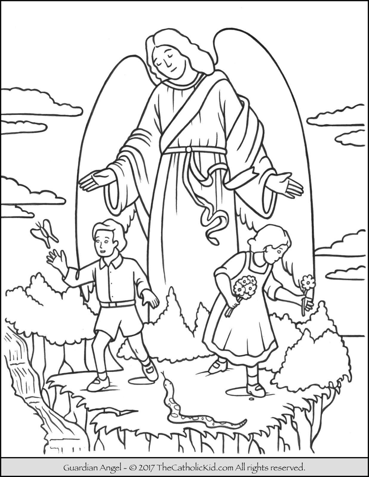 Bleistiftzeichnungen Schutzengel Engel Malen