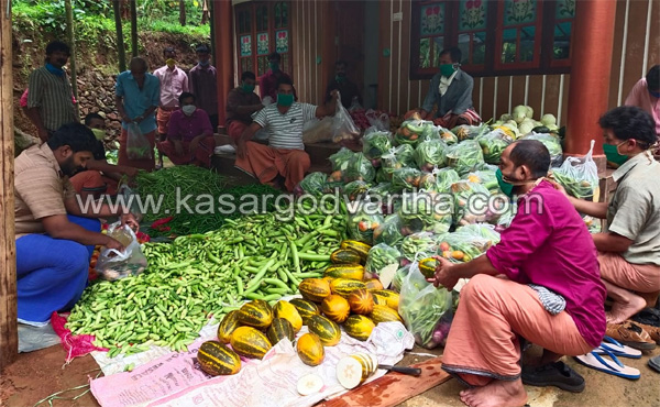 News, Kerala, Youth Congress distributed vegetables and masks