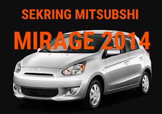 fusebox MITSUBISHI MIRAGE 2014