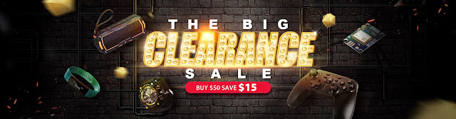 THE BIG CLEARANCE SALE, Buy $50 Save $15