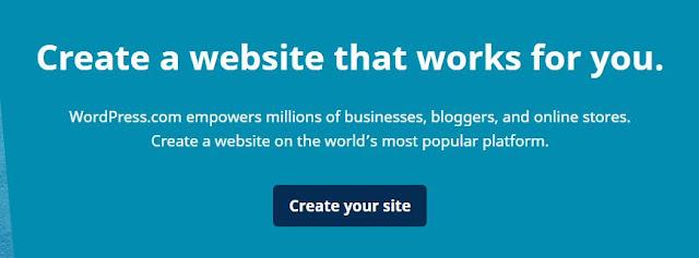 Bonus: Cara membuat blog Wordpress