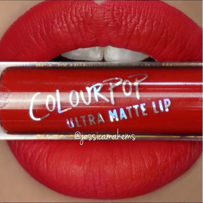 Batom líquido matte ColourPop Cosmetics - cor Creeper