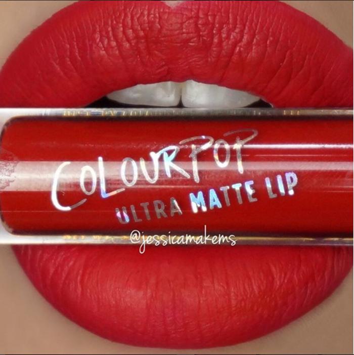 Batom líquido matte ColourPop Cosmetics - cor Creeper