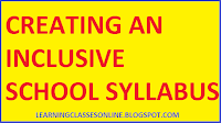 creating an inclusive school b.ed syllabus and curriculum free download pdf