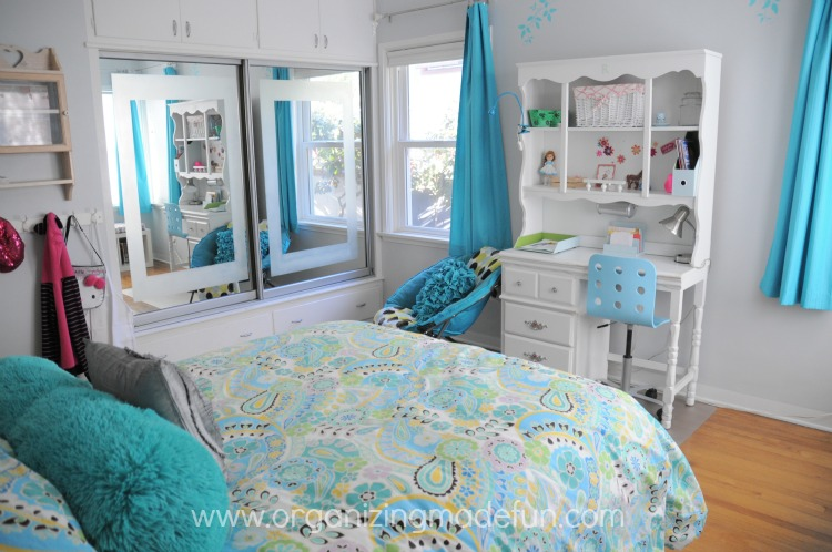 Turquoise Girls' Room Final Reveal