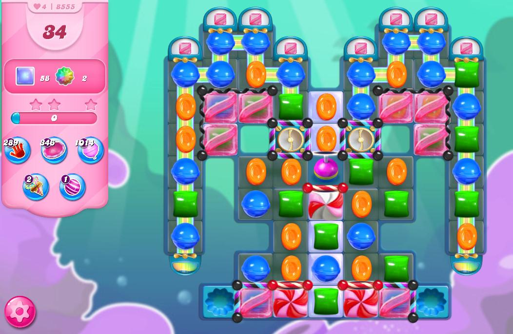 Candy Crush Saga level 8555