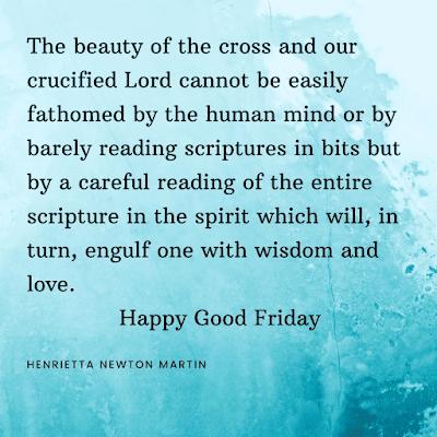 Henrietta Newton Martin's Good Friday images