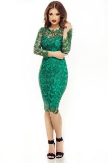 rochie-de-petrecere-din-dantela-verde-2