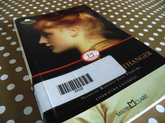 capa do livro A Abadia de Northanger escrito por Jane Austen
