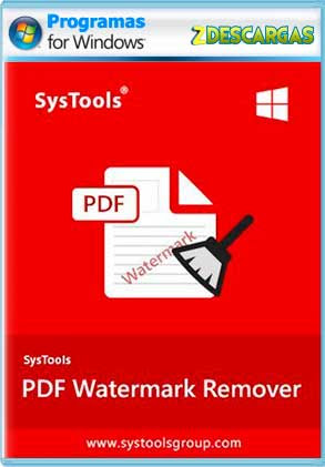 SysTools PDF Watermark Remover (2021) Full