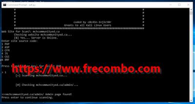 Paython Admin CP Finder HQ Tool